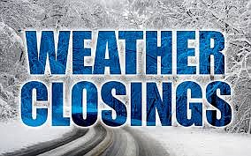 JTHS schools closed due to weather conditions All JTHS Schools and Facilities are Closed on Wednesday, January 30, & Thursday, ...