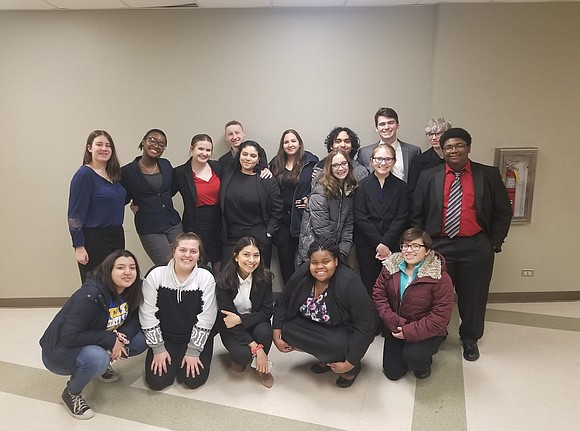 Three Joliet Central High School Speech Team members advanced to the IHSA Sectional Tournament, with two members named Regional Champions, ...