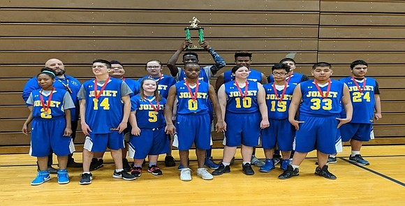 """Joliet Township High School's Special Olympics Basketball """"Gold"""" Team will compete in the Illinois Special Olympics State Tournament in March, ..."""
