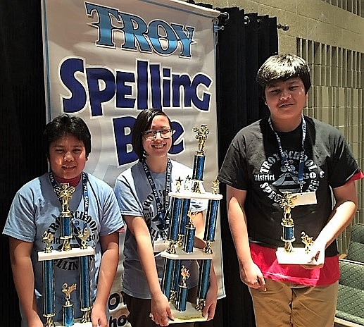 The winner of the 2019 Troy School District 30-C Spelling Bee is Angela Conde, a Troy Middle School 8th grader. ...