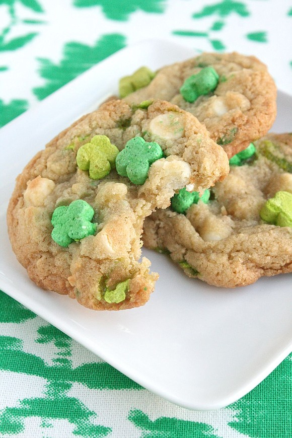 YIELDS: 1 dozen / Total Time: 45 mins INGREDIENTS 2 c. Lucky Charms (just cereal, no marshmallows) 1 1/2 c. ...