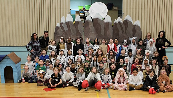 "The three 2nd grade classes at Troy Shorewood Elementary School put on their spring musical in March. ""Arf"" featured the ..."