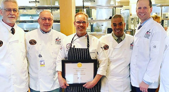 The Joliet Jr. College, Culinary Arts Professor Tim Bucci is officially a Certified Master Chef (CMC), the highest honor given ...