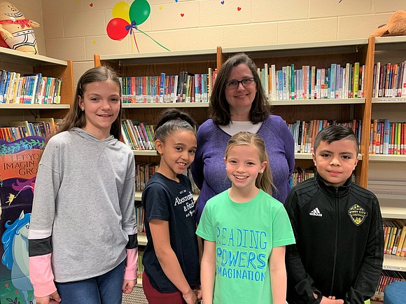 "The winning team in Troy Heritage Trail Elementary School's ""Battle of the Books"" was the ""Dragon Readers,"" composed of 4th ..."