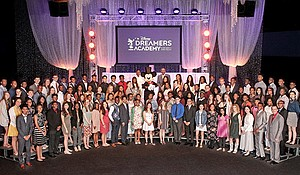 Essence magazine and television-radio personality Steve Harvey hosted 100 teens during the the 12th annual Disney Dreamers Academy, March 24.