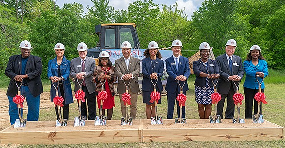 Breaking ground today on its first residence hall in Southern Dallas, AT LAST! will move forward with its innovative program ...