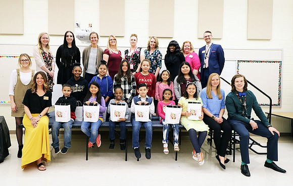 Isaac Singleton Elementary School was transformed into an art gallery showcasing over 1,400 pieces of student artwork at the annual ...