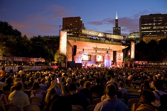 Millennium Park - June 7-9, 2019 Chicago, IL The largest free blues festival in the world, the Chicago Blues Festival ...