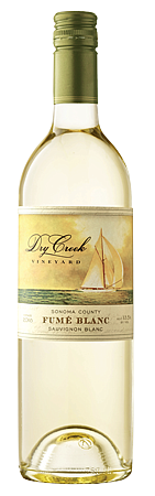 Crisp, dry and brimming over with flavors of Meyer lemons, mandarin orange and a splash of lime, Dry Creek Fume ...
