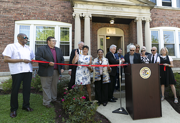Joliet -Will County State's Attorney James Glasgow officially opened the doors to the Connor Kelly Residence, a new transitional housing ...