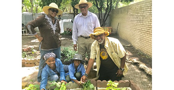 I dedicate this month's article to Dr. Charles Mitchell, M.D., and his wife, Vernil Mitchell, who shared their yard garden ...