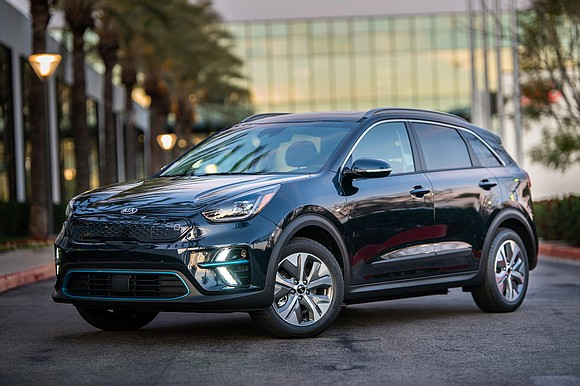 I had completely forgotten that the Kia Niro being delivered was an EV; that is an electric vehicle. It wasn't ...