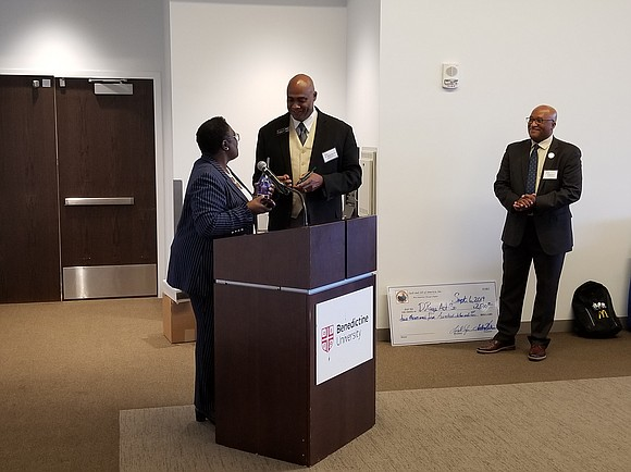 As part of the program at their annual Community Leaders Breakfast, DuPage County ACT-SO recognized the support given to the ...