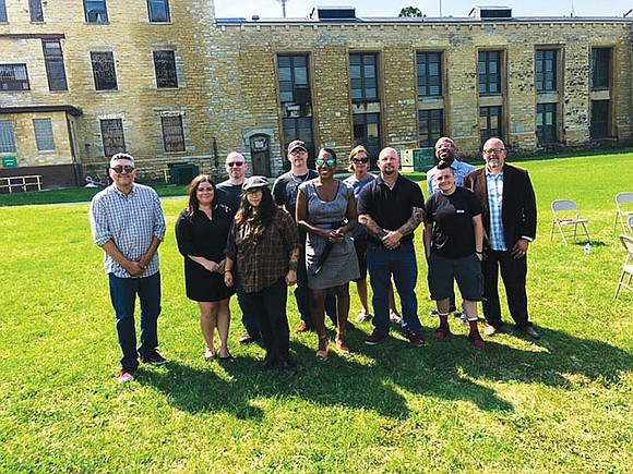 Lt. Governor Juliana Stratton toured the Old Joliet Prison recently with the local artist collective, the Old Joliet Prison Burnt ...