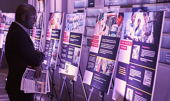 """The Smithsonian's National Museum of Natural History's """"Outbreak: Epidemics in a Connected World"""" exhibition will be on display from 10 ..."""