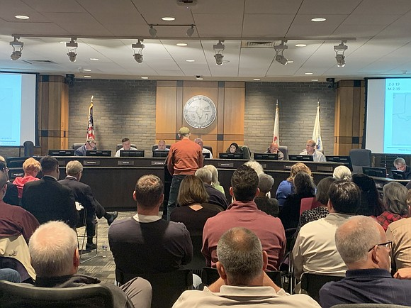 There was standing room only for some people at a recent meeting of the Joliet Plan Commission, as it sought ...