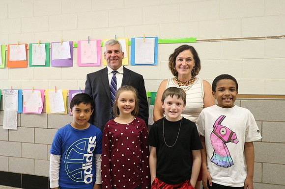 Joliet Mayor Bob O'Dekirk recently visited with third grade students at Taft Elementary School. The students were learning about communities ...