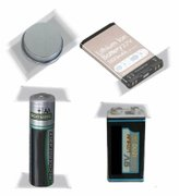 EXAMPLES OF BATTERIES THAT SHOULD BE TAPED BEFORE BRINGING TO FT. TOTTEN FOR THE WEEKLY HOUSEHOLD HAZARDOUS WASTE/E-CYCLING DROP-OFF