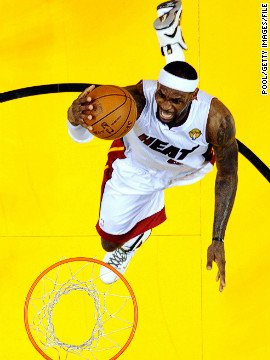 For LeBron James the NBA records just keep on tumbling. The Miami Heat star notched up 20,000 career points against ...