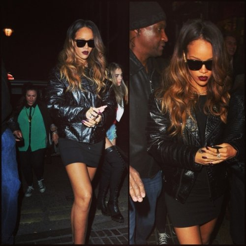 Rihanna Bruised After Bottle Throwing Incident Houston