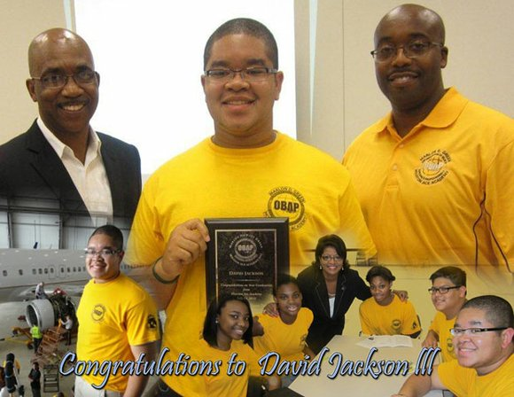 David Jackson III was recently accepted to Embry-Riddle Aeronautical University and Arizona State University.