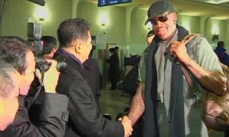 In a surprise twist that no one saw coming, except maybe the Mayans, Dennis Rodman has been welcomed into notoriously ...