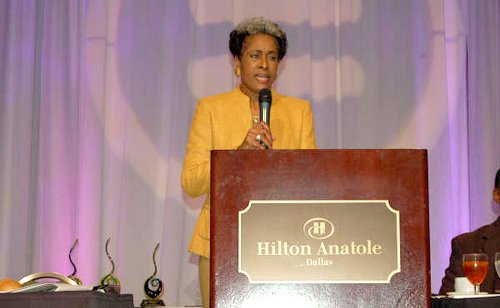 Dr. Beverly Mitchell-Brooks,  president of the Urban League of Greater Dallas