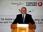 (top right): Hamdi Topçu, Turkish Airlines' Chairman of the Board, Chairman of the Executive Committee