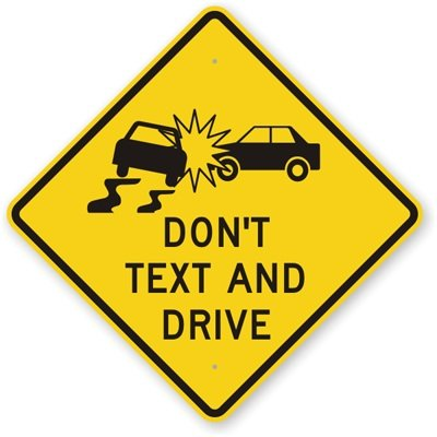 The issue of texting and driving in the att it can wait awareness campaign