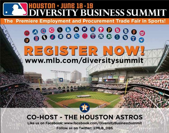 Major League Baseball and the Houston Astros will co-host the second annual MLB Diversity Business Summit, which will provide attendees ...