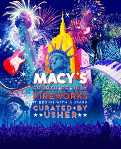 The eight-time Grammy Award-winning artist is working with the department store on its annual fireworks show, marking the first time ...