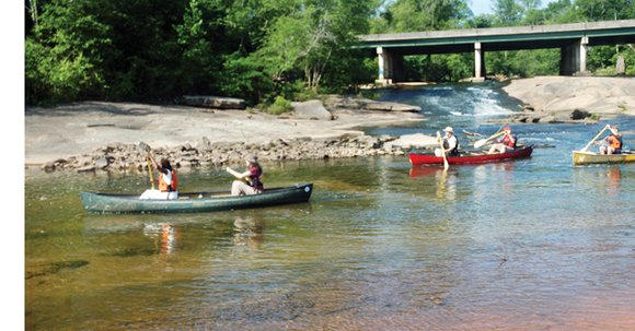 South DeKalb residents can paddle the South River on May 18 and experience the beauty of nature close to home.