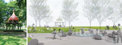 Portland's African American history is recognized in the planned renovations coming for historic Dawson Park at North Williams and Stanton Street. The $2.1 million project will also add a water play feature for kids thanks to a contribution from neighboring Legacy Emanuel Medical Center.