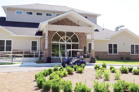 The $1.3 million upgrades at Sugar Creek Golf & Tennis include a new clubhouse that opened on April 1, new locker rooms, a conference room, and a drive-up for bag drop-offs.
