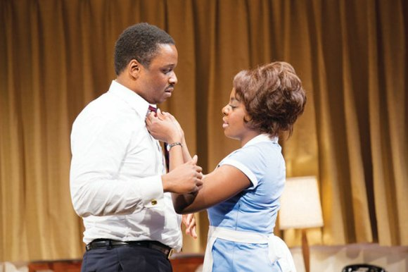 "In the opening minutes of ""The Mountaintop,"" playing at Arena Stage's Kreeger Theater, one could easily become defensive about the ..."