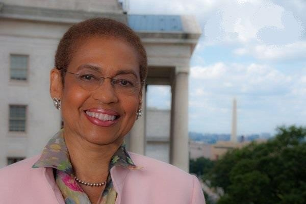 D.C. Congresswoman Eleanor Holmes Norton/Courtesy of Norton.house.gov