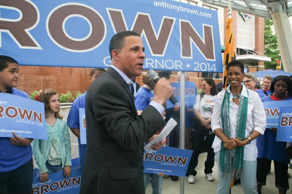 Maryland Lt. Gov. Anthony G. Brown announces his candidacy to run for Maryland State Governor.
