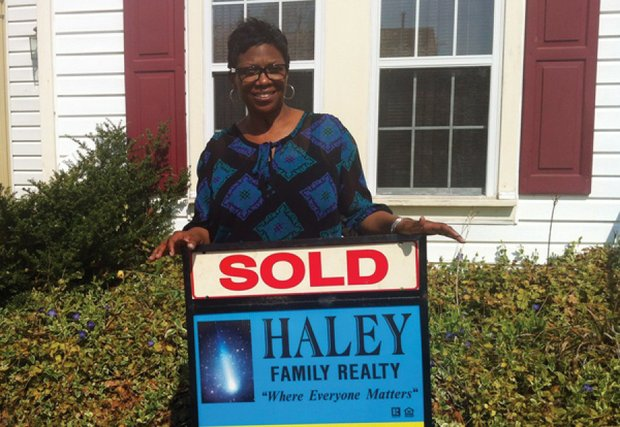 Selivia Diggs, who has been waiting to buy a new home for more than two years, received $35,000 in financial assistance from the Buy Suitland program./Courtesy of Prince George's County