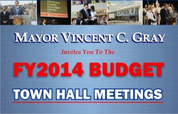 Mayor Vincent Gray will hold a Ward 6 town hall meeting from 6:30 p.m. to 8:30 p.m., Thursday, April 25 ...