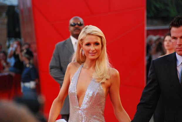 Paris Hilton on Red Carpet Venice Film Festival Sept 4, 2009
