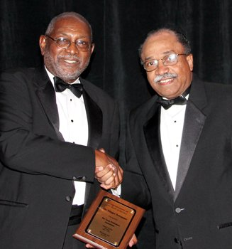 Publisher Tommy Wyatt and Atty. James C. Belt Jr