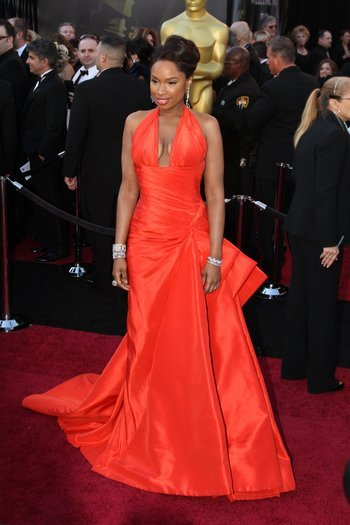 Jennifer Hudson arrives on the red carpet at the 83rd Annual Academy Awards on Sunday, February 27, 2011. Photo: Tom Larson/CNN
