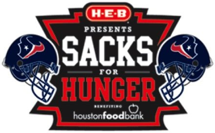 H-E-B and the Houston Texans are proud to present the Houston Food Bank with $47,000 through the H-E-B Sacks for ...