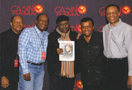 Norman Richmond and Little Anthony and the Imperials.