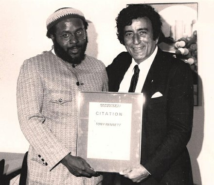 Norman Richmond and Tony Bennett, Bennett was given a Biko-Rodney-Malcolm Award for his stand against Apartheid.