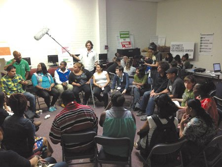 More than 50 students, parents, teachers and community members turned out for a forum on the future of Crenshaw High, ...