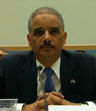 Attorney General Eric Holder on Wednesday, May 15, 2103 at a House Judiciary Committee hearing.