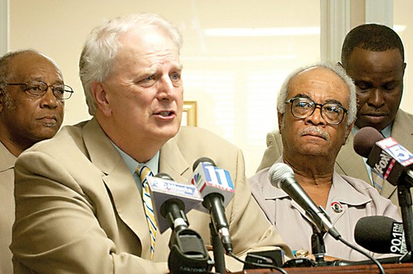 Former Gov. Roy Barnes stresses that state Rep. Tyrone Brooks, a civil rights hero, is no thief and has been ...