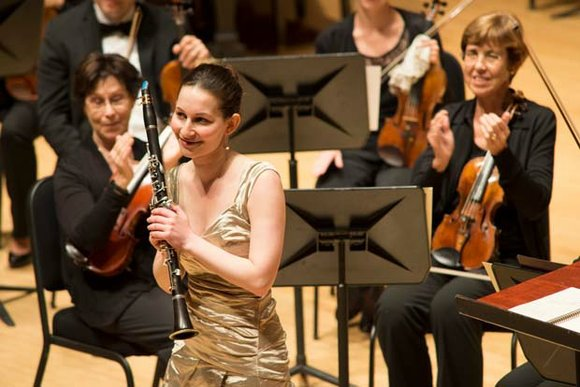 Performing Mozart's Clarinet Concerto in A major, 28-year old Israeli clarinetist Moran Katz won the 38th annual Houston Symphony League's ...
