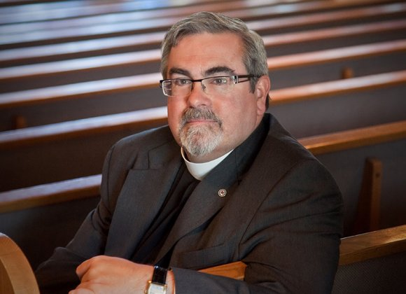 Rev. R. Guy Erwin elected first openly gay bishop in the Evangelical Lutheran Church in America.